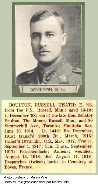Photo of Russell Heath Boulton