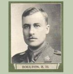 """Photo of Russell Heath Boulton – From """"The War Book of Upper Canada College"""", edited by Archibald Hope Young, Toronto, 1923.  This book is a Roll of Honour including former students who served during the First World War."""