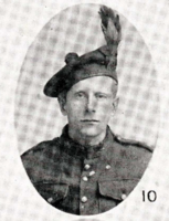 Photo of JOSEPH JOHN POWER – In memory of the men who joined the 185th Battalion (Cape Breton Highlanders) who went to war and did not come home. Submitted for the project, Operation Picture Me