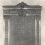 Commemorative Plaque – Memorial Plaque commemorating barristers and students, members of the Alberta law society, who died while serving in the First World War.