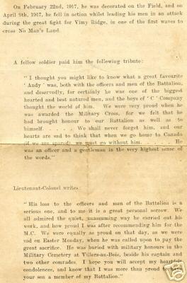 Memorial Program (Page 3)
