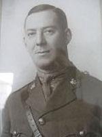 Photo of William Eberts Brown – Lieutenant William Eberts Brown - CEF, 1916