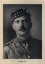 Photo of Allan Gray – From Memorial from the Great War 1914-1918: a record of service published by the Bank of Montreal 1921.