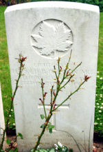Grave Marker – Photo courtesy of Wilf Schofield, England, 2008.