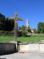 War Memorial – This is the War Memorial at Woodchester, Gloucestershire.