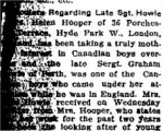 Newspaper Clipping – From the Perth Courier for 11 May 1917.