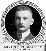 Photo of Reginald Jolliffe – From: The Varsity Magazine Supplement Fourth Edition 1918