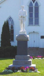 Tatamagouche War Memorial – This memorial is located in Tatamagouche, Nova Scotia.