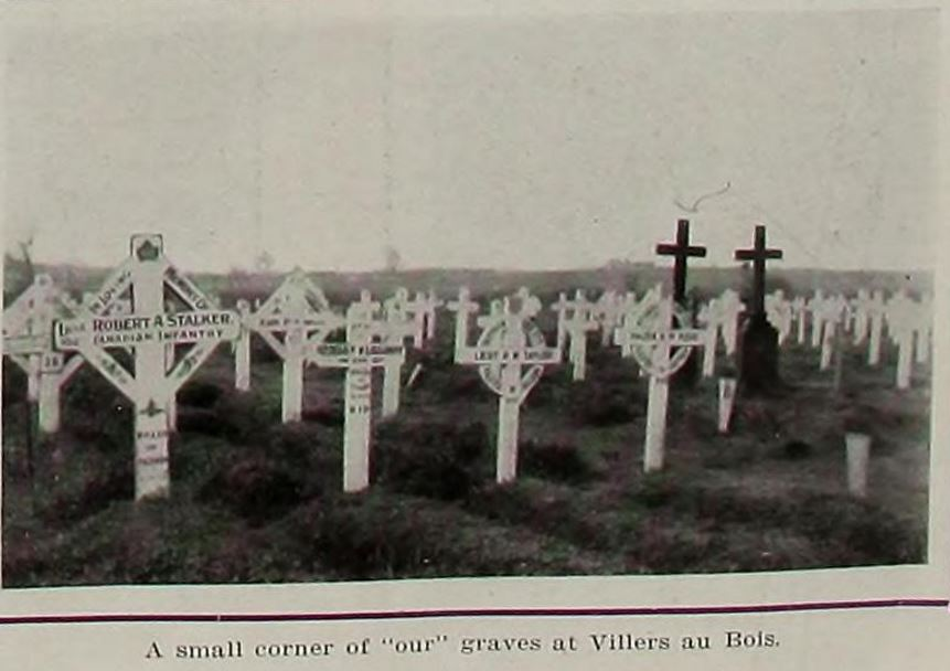Newspaper Clipping – Image source: news clipping shows his grave on far left
