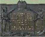 Plaque – Beamsville Ontario War Memorial.   Sculptor:  Hamilton MacCarthy, R.C.A.