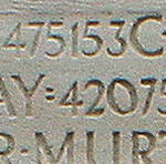 Inscription – His name as it is inscribed on the Vimy Memorial.(J. Stephens)