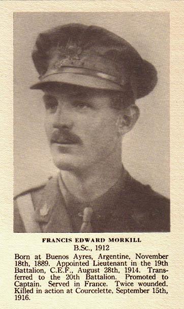 Photo of  Francis Edward Morkill