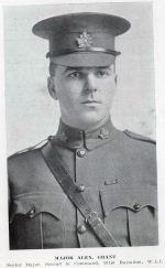 Photo of Alexander Grant – Major Alexander Grant, Senior Major, 101st Battalion