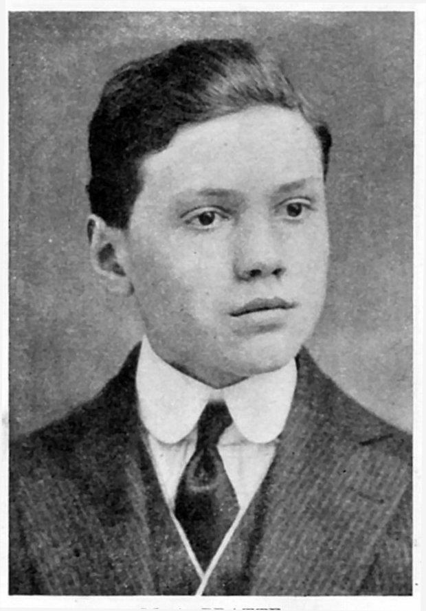Photo de Marc-Aurèle Pratte – Marc-Aurèle Pratte (1900-1918)