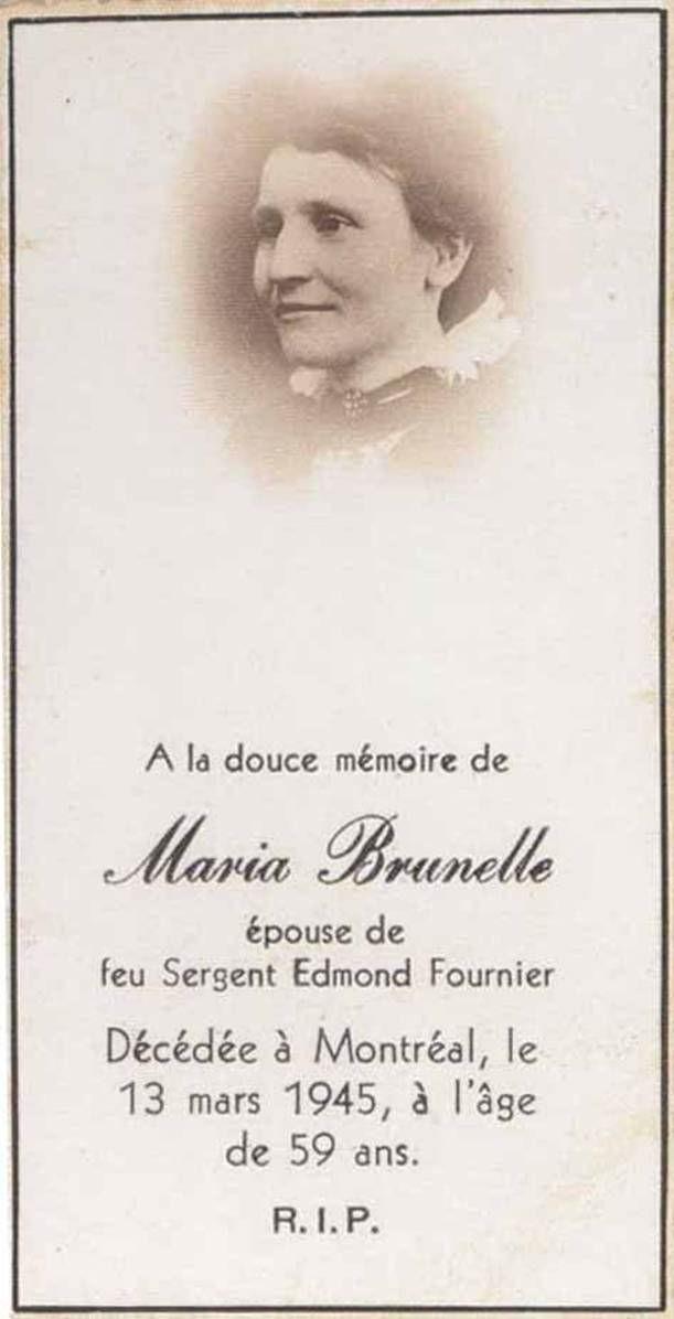 Photo of Maria Brunelle