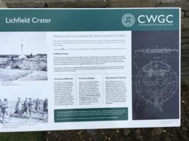 Information – CWGC memorial explanatory panel