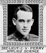 Photo of Cecil Perry – From: The Varsity Magazine Supplement Fourth Edition 1918