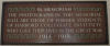 Memorial Plaque – In memory of the Harbord Collegiate Institute students who served during World War I and World War II and did not return home.