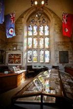 Memorial Room – Memorial Room, Soldiers' Tower, University of Toronto.  Photo by David Pike, 2010; courtesy of Alumni Affairs.