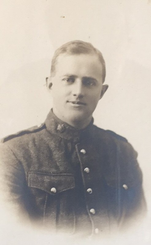 Photo of GEORGE MILLER BRIDEN – Private George Miller Briden, 5th Bn Canadian Infantry