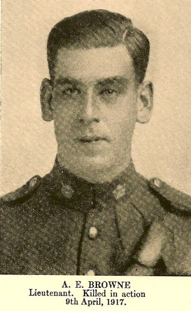 Photo of Albert Edward Browne – In memory of the employees from the Canadian Bank Of Commerce (CIBC) who went to war and did not return. Submitted for the project, Operation: Picture Me