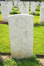 Grave Marker – Courtesy Wilf Schofield, England