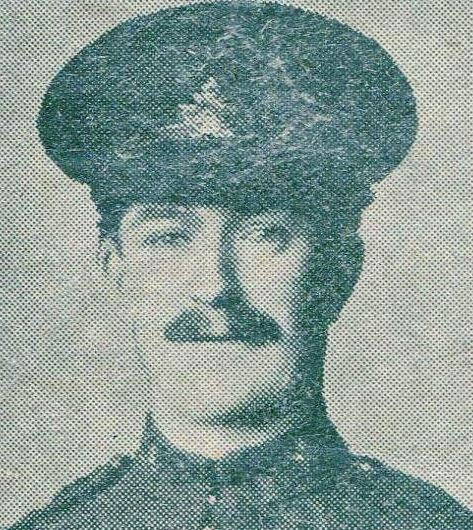Newspaper clipping – Pte W.J. Darbourn, Fought at Vimy Ridge, Wounded 9th April 1917, Died of Wounds 10th April 1917
