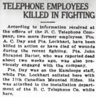 Newspaper clipping – From the Daily Colonist of June 13, 1917. Image taken from web address of https://archive.org/stream/dailycolonist59y159uvic#page/n0/mode/1up