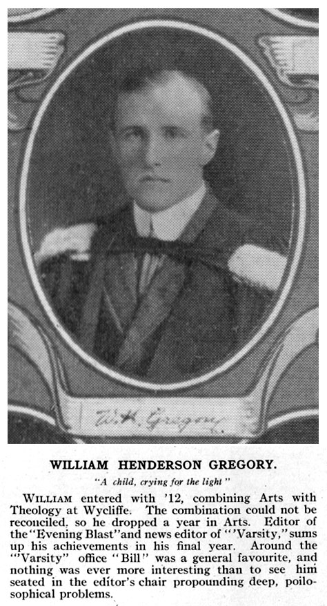 Photo of William Gregory