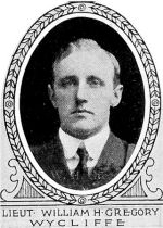 Photo of William Gregory – From: The Varsity Magazine Supplement published by The Students Administrative Council, University of Toronto 1918.  
