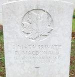 Grave Marker – Taken July 7, 2008