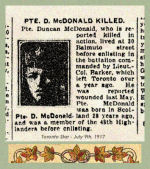 Newspaper Clipping – In honoured memory.