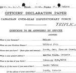 Document d'attestation