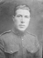 Photo of Alfred William Sewell – Alfred William Sewell was born on June 6, 1890. He was killed in action on November 3, 1916. He was the beloved brother of Amy and Gwendoline.