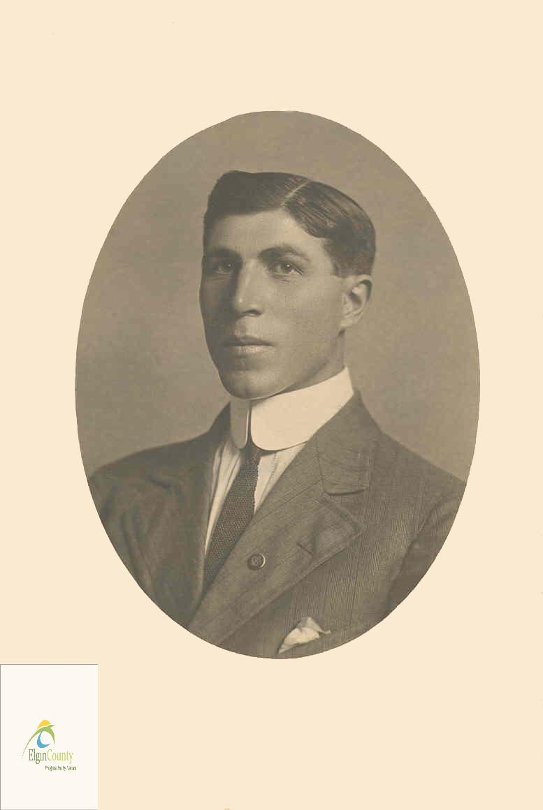 Photo of Alfred Sewell – Alfred Sewell prior to enlistment.