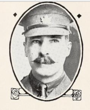 Photo of WALTER WILSON STEWART – Photo from the National Memorial Album of Canadian Heroes c.1919. Submitted for the project, Operation: Picture Me.