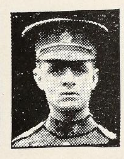 Photo of Charles Alfred Watts – Photo from the National Memorial Album of Canadian Heroes c.1919. Submitted for the project, Operation: Picture Me.