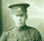 Photo of Cecil Edgar Scott – Cecil Edgar Scott eldest son of Robert Baird Scott and Mary Jane Shewfelt of Kincardine Township, Bruce County, Ontario.