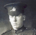 Photo of Cecil Edgar Scott – Cecil Edgar Scott served with the 160th Battalion from April 1916 to his death on August 8, 1918.