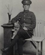 Picture of John Saunders – Son of James and Sarah Anne Saunders of Glovertown, Newfoundland.