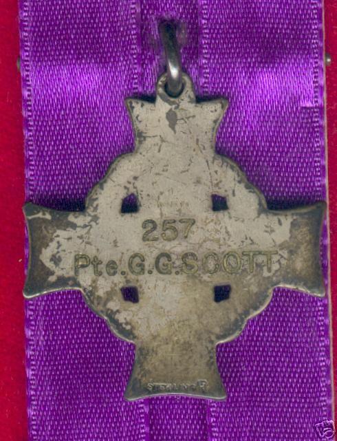 Memorial Cross (back)