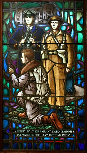 Memorial Stained Glass – Memorial window, Royal Military College, Kingston, Ontario
