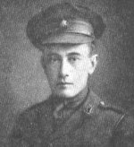Photo of Edmund De Wind – Second Lieutenant Edmund De Wind had served with the Queen's Own Rifles of Canada for a period of six months prior to his enlistment on November 16, 1914 in the Canadian Overseas Expeditionary Force at the start of the First World War.  He is claimed as a Victoria Cross winner of the Regiment on this basis. This photo is taken from the regimental history (1960).