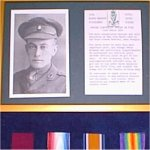 Medals – Photo is of E. De Wind's VC display, in the Royal Ulster Rifles Regimental Museum.