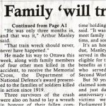 Newspaper Clipping 2 – Page two of the article that appeared in The Review.