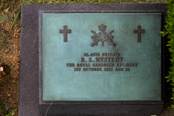 Grave marker – Grave Marker, UN Cemetery, Busan, Korea, 2013