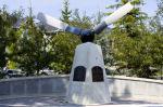 Memorial – Memorial located at Buffalo Park, Garrison Green, Calgary, Alberta. Photo credit - Canada Lands Company.