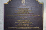 Inscription – Memorial located at Buffalo Park, Garrison Green, Calgary, Alberta. Photo credit - Canada Lands Company.