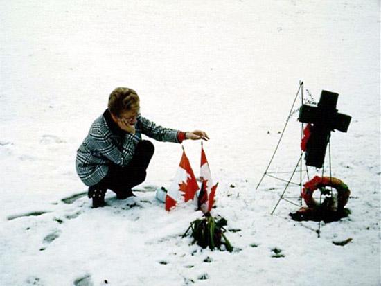 Photo of Carol Isfeld, Mark's mother