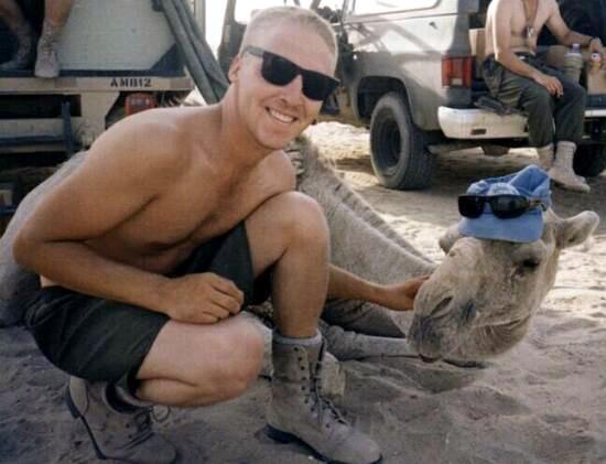 Mark Isfeld in Kuwait, photo 3